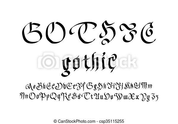 Style lettres moderne vecteur gothique font style art style lettres moderne vecteur gothique font csp35115255 thecheapjerseys Choice Image