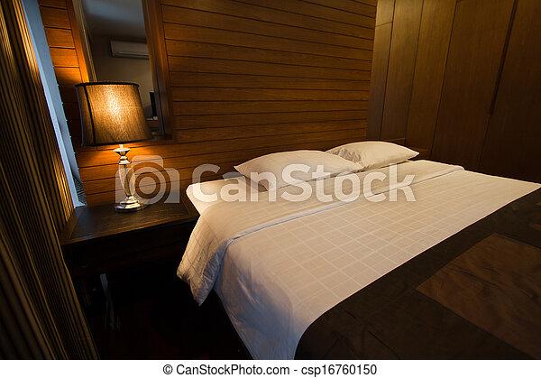 Style Moderne Luxe Chambre à Coucher Ville Ville Style