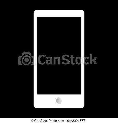 style, résumé, moderne, screen., gadgets, gabarit, vide - csp33215771