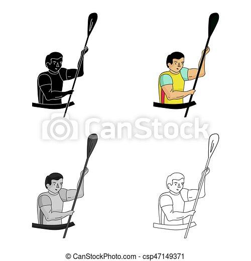 rameur olympic