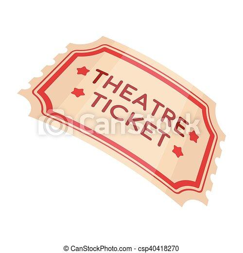 Style th tre th tre symbole isol illustration - Dessin de theatre ...