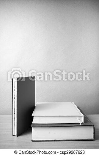 Style Tonalite Couleur Livre Noir Blanc Pile