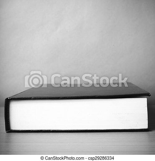 Style Tonalite Couleur Livre Noir Blanc Style