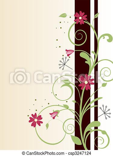 stylique floral - csp3247124