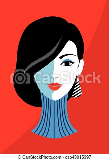 Stylish Beautiful Model For Fashion Design