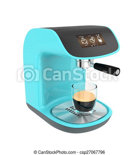 Stylish espresso coffee machine - csp27067796