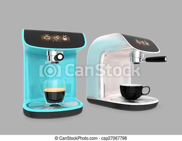Stylish espresso coffee machines - csp27067798