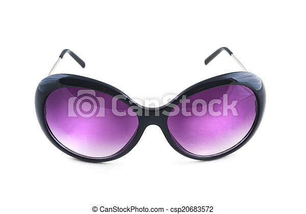 309bf5a7b Stylish female sunglasses on white background. cool shades for women.