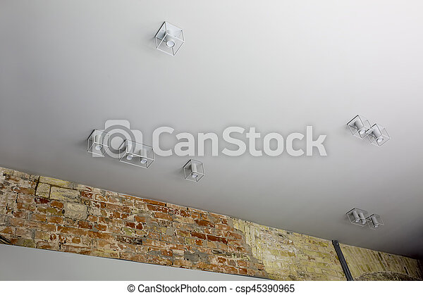 Stylish hanging lamps - csp45390965