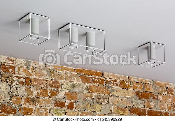 Stylish hanging lamps - csp45390929