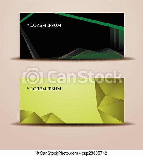 stylish layout corporate identity - csp28805742