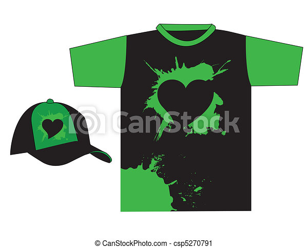 T Shirt Design Line Art : Stylish t shirt design vector clip art search illustration