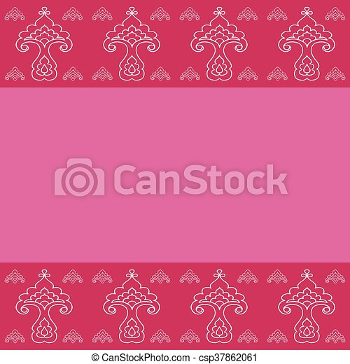 Stylization template for Greeting Card. - csp37862061