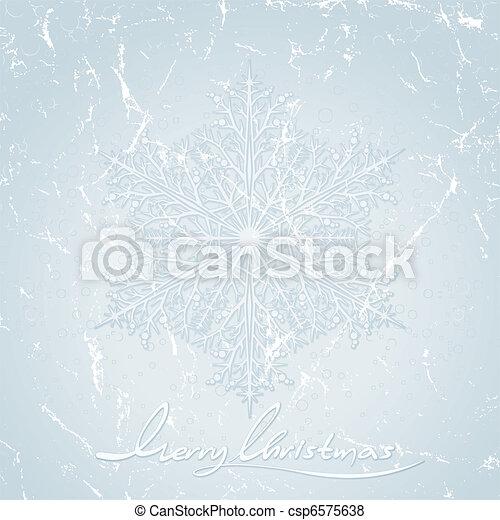 Stylized Christmas background - csp6575638