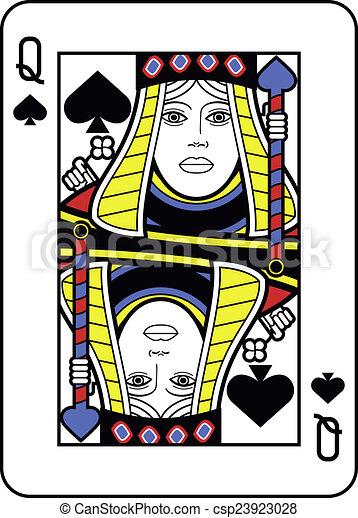 spades photos of queen