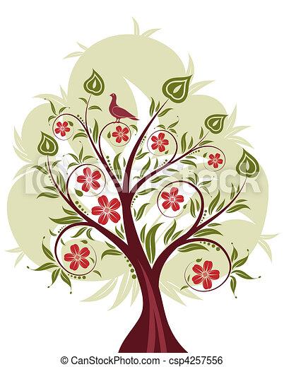 Stylized Tree - csp4257556