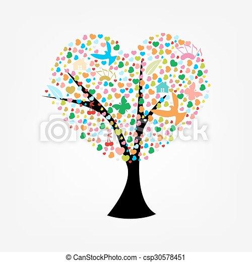 Stylized tree - csp30578451