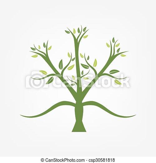 Stylized tree - csp30581818