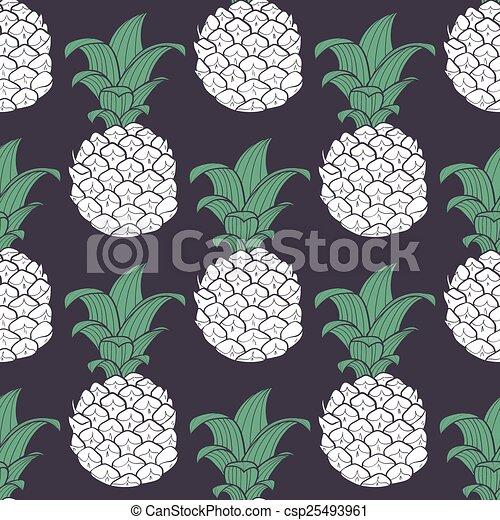 Pineapple Drawing Clip Art Geometric