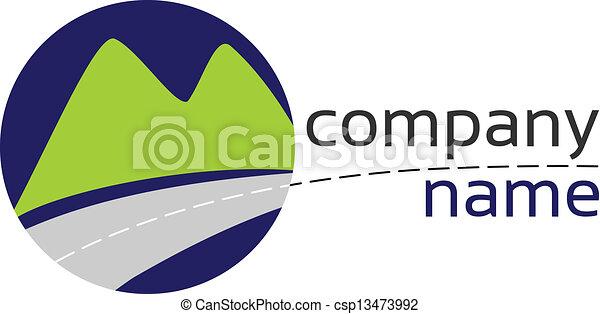 stylizowany, logo - csp13473992