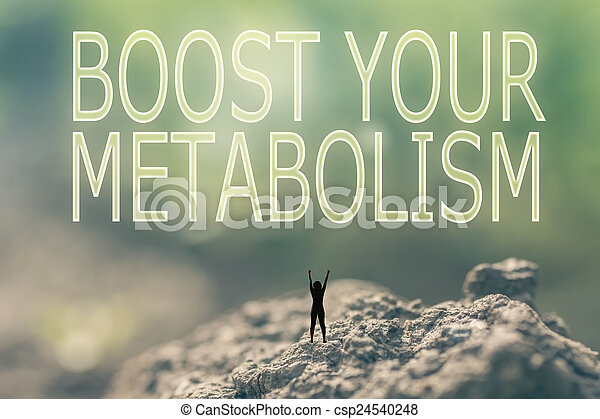Concepto aumentar tu metabolismo - csp24540248