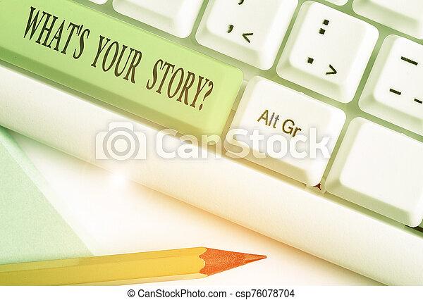 su, question., s, conceptual, sobre, actuación, poseer, mi, journey., preguntado, ser, texto, foto, historia, alguien, señal, qué - csp76078704