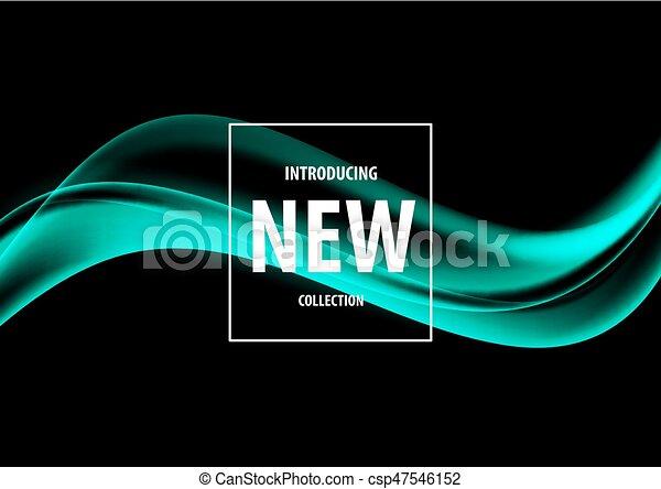 Abstraer la plantilla de diseño de arte blando - csp47546152