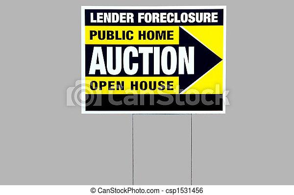 Señal de ejecución hipotecaria - csp1531456