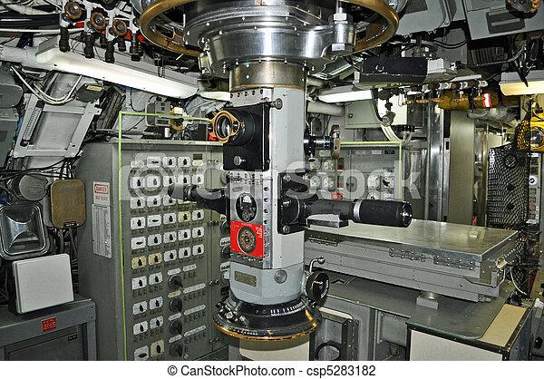 Submarine Control Room - csp5283182