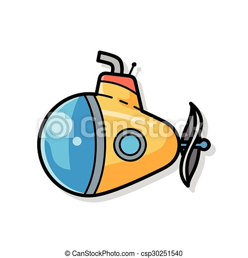 submarine doodle eps vector search clip art illustration rh canstockphoto com submarine clipart png submarine clip art images