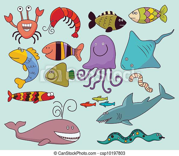 Vida salvaje bajo el agua - csp10197803