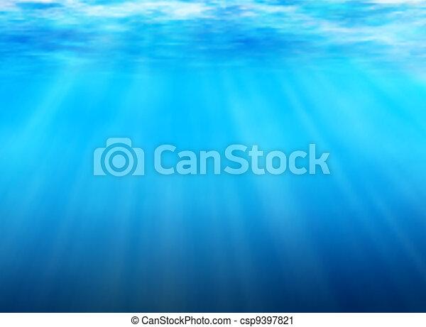 Debajo del agua - csp9397821