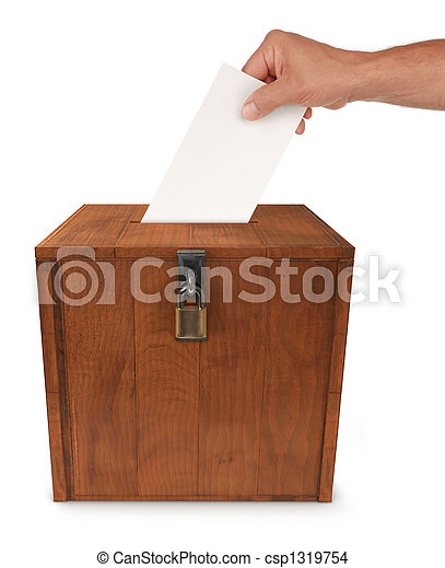 Submitting a Vote - csp1319754