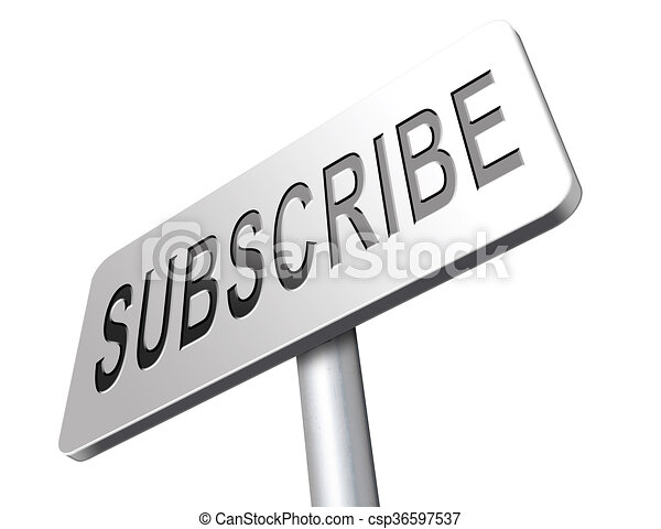 subscribe here - csp36597537