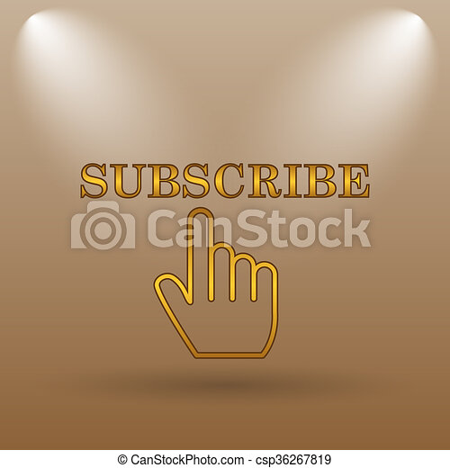 Subscribe icon - csp36267819