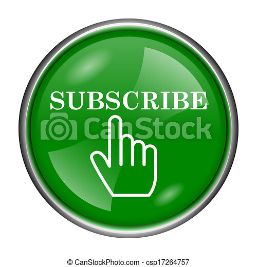 Subscribe icon - csp17264757