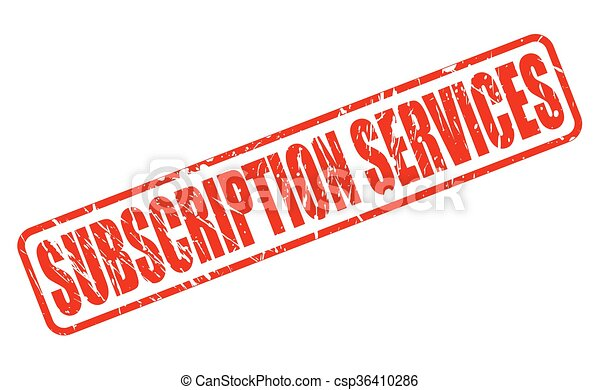 subscription services red stamp text on white vector search clip rh canstockphoto com clip art subscription services clipart subscription