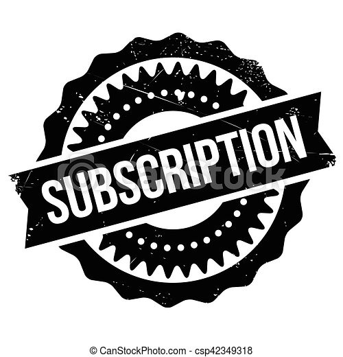 subscription stamp grunge design with dust scratches vector rh canstockphoto com clip art subscription services best clipart subscription
