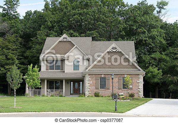 Suburban Home 1 - csp0377087
