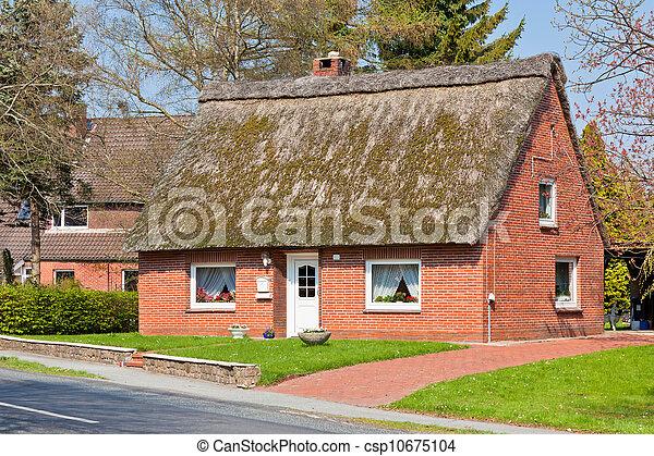 Suburban home front - csp10675104