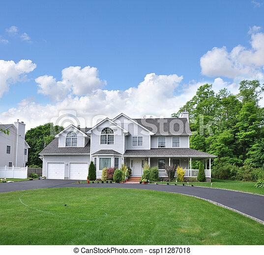 Suburban Home - csp11287018