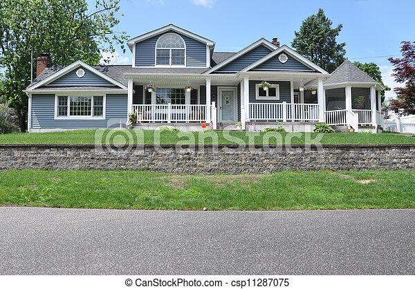 Suburban Home - csp11287075
