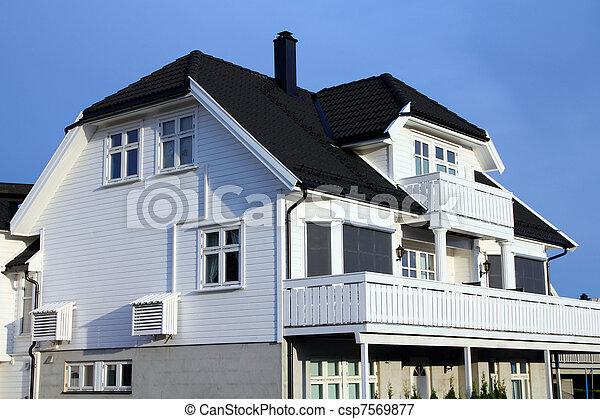 Suburban home - csp7569877