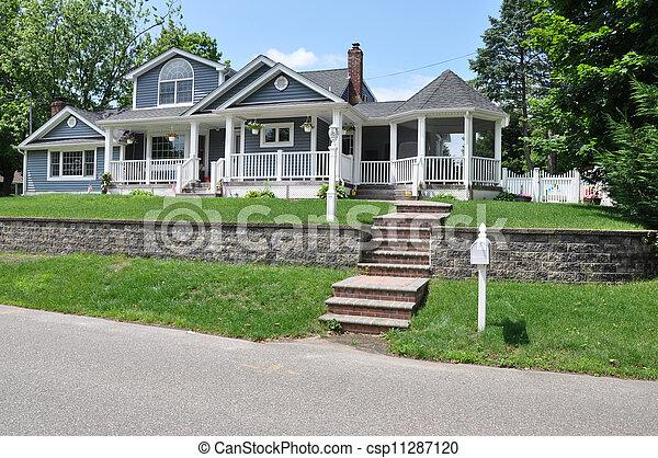 Suburban Home - csp11287120