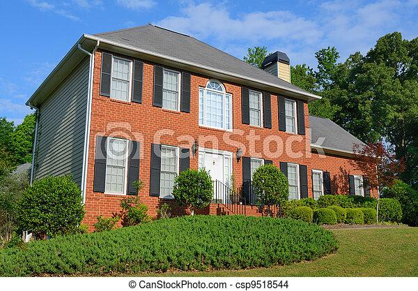 Suburban Home - csp9518544
