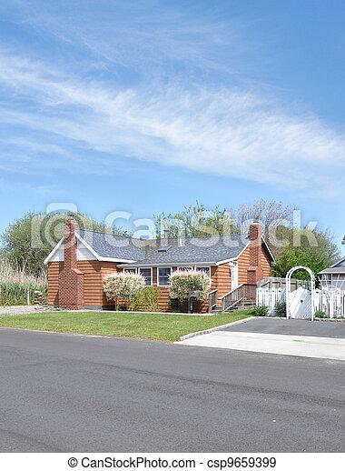 Suburban Home - csp9659399