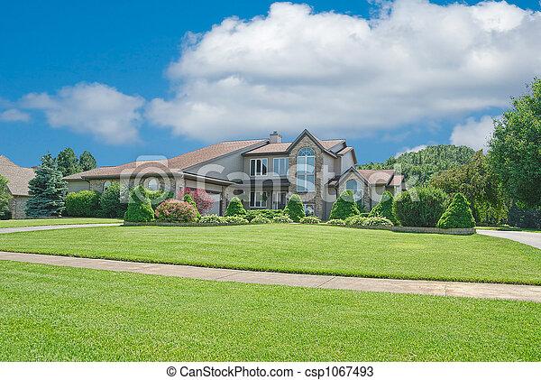 Suburban Home - csp1067493