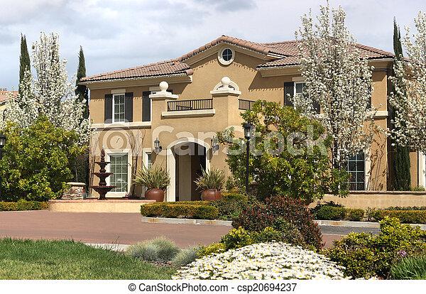 Suburban Home - csp20694237