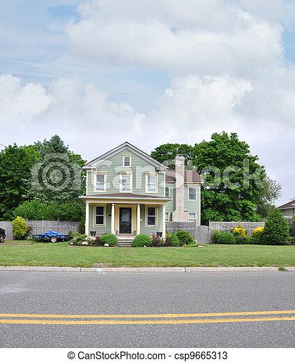 Suburban Home - csp9665313