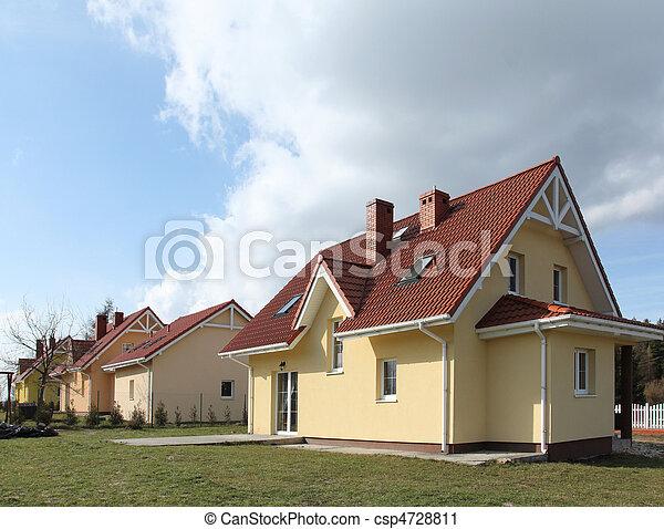 Suburban homes - csp4728811